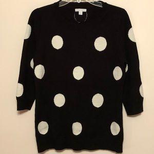 NY&CO Polka Dot Sweater